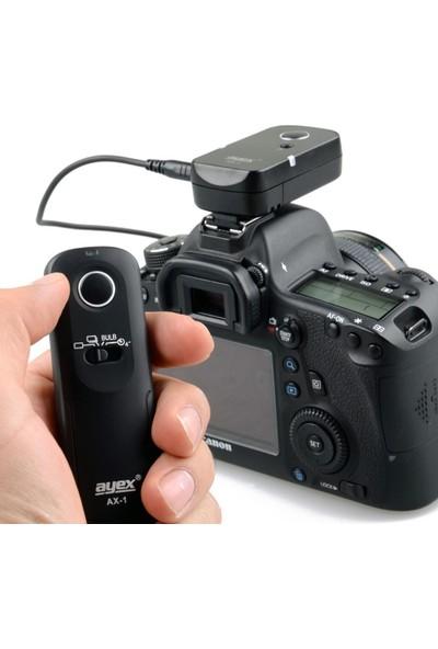 Canon G10, G11, G12, G15, G1 X G1 Xıı, Sx50, Sx60 İçin Ayex Ax-1 E3 Kablosuz Kumanda