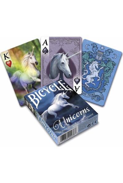 Bicycle Anne Stokes Unicorns Premium Koleksiyonluk İskambil Oyun Kağıdı Kartları