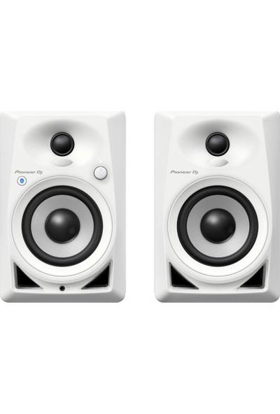"Pioneer DJ DM-40BT-W 4"" Bluetoothlu Referans Monitörü (Çift)"