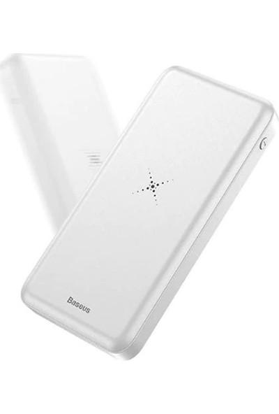 Baseus M36 Qi 10000Mah Kablosuz Wireless Power Bank Harici Şarj
