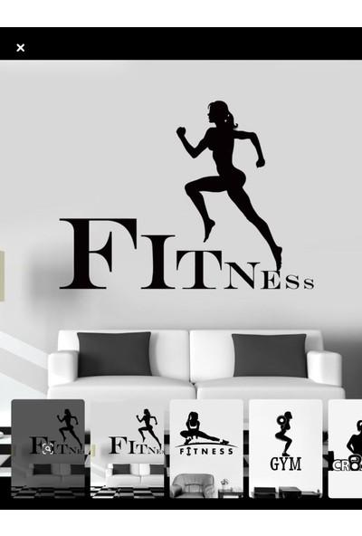 Areksan fitness duvar sticker