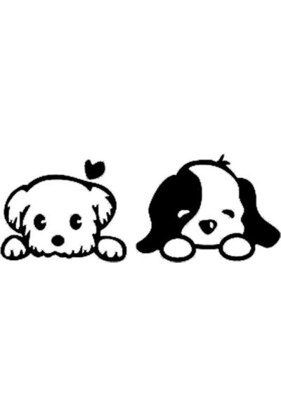 Areksan Sevimli Yavru Köpekler Duvar Sticker