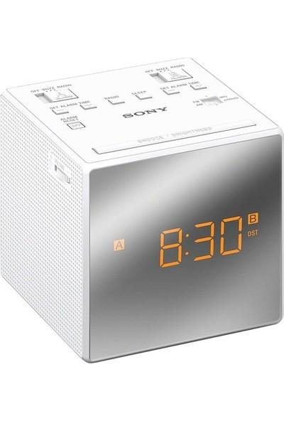 Sony Icf-C1Tw Çift Alarm Saatli Radyo Beyaz