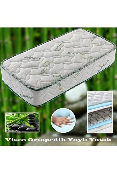 Midilife Relaxbed Bamboo Yaylı Visco Yatak 75X200 Cm