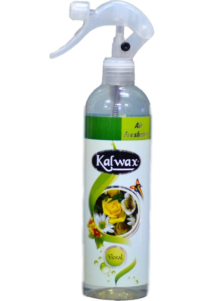 Kalwax Oda,Kumaş ve Hava Temizleyici Sprey 400 ml (Floral)