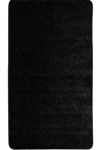 Myevilla Kaymaz Taban Banyo Paspası -Klozet Takımı 2 Parça Diverso Siyah