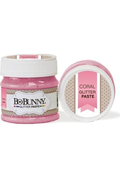 Bobunny Coral Glitter Paste