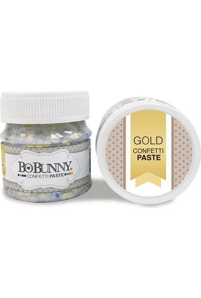 Bobunny Glitter Paste Gold Confettı