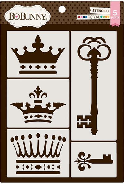 Bobunny Royal Stencil
