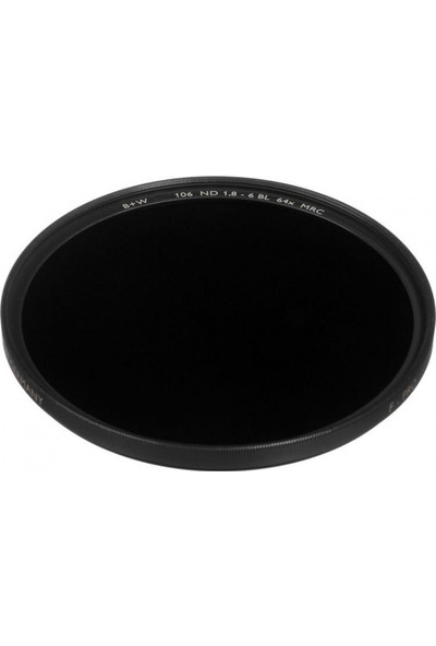 B+W 82Mm Mrc 106M Neutral Density 1.8 64X Nd Filtre
