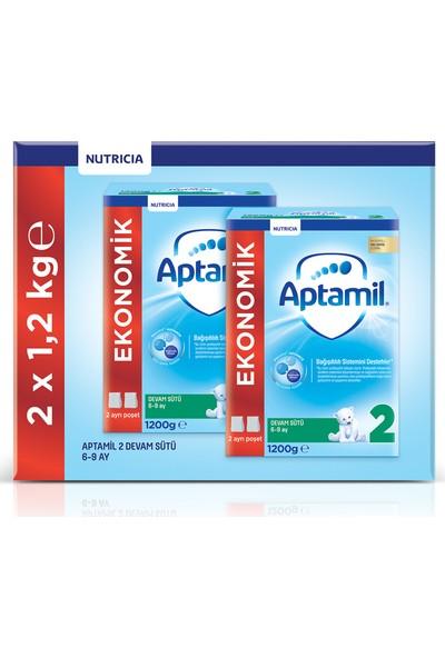 Aptamil 2 1200 gr Mega Size 2'li Paket Devam Sütü 6-9 Ay
