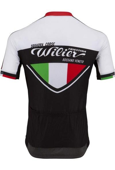 Wilier Squadro Corse Kısa Kol Bisiklet Forması Medium