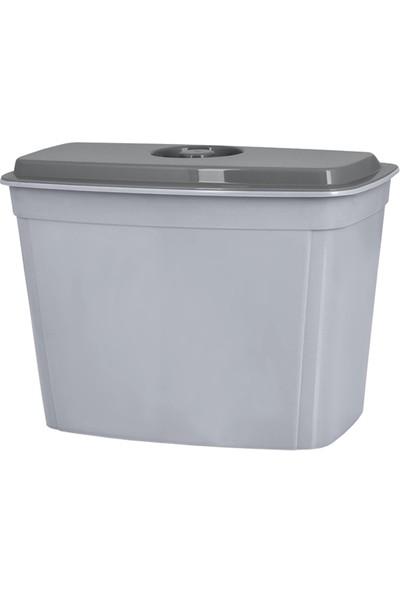 Hobbylife Quick Askılı Ve Kapaklı Çöp Kutusu 4 Lt