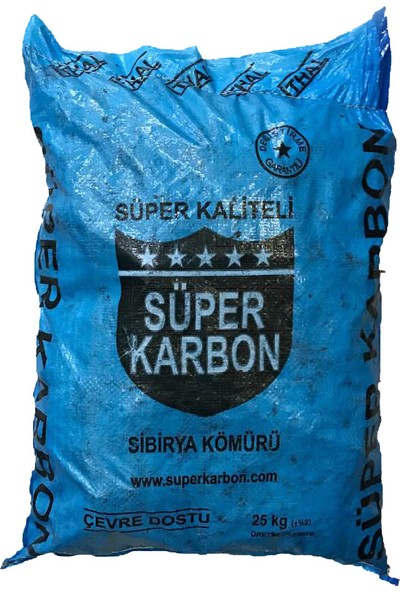 Süper Karbon Soba Kömürü