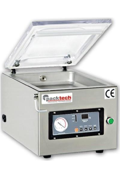 Packtech Masaüstü Vakum Makinesi Çift Çeneli