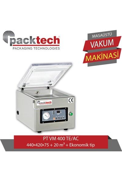 Packtech Masaüstü Vakum Makinesi Tek Çeneli