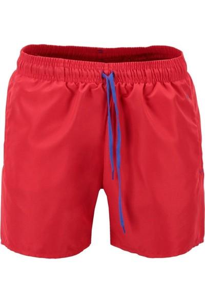 Exuma 118-5031 Erkek Deniz Şortu Kırmızı