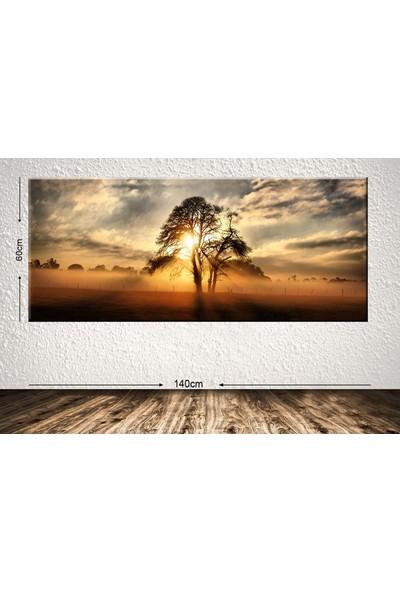 Hepsi Home Dev Boyut Manzara Kanvas Tablo - 60x140cm