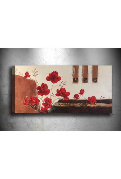 Tablocenter Çiçek Kanvas Tablo 30 x 90 cm
