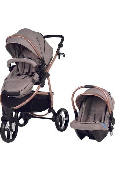 Sunny Baby Camenta Travel Sistem Bebek Arabası Bej