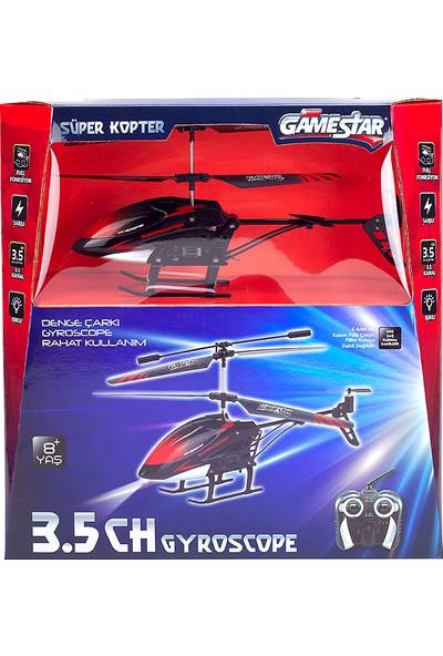 Gamestar Uzaktan Kumandalı Helikopter 3,5 Kanal Gyro Süper Kopter