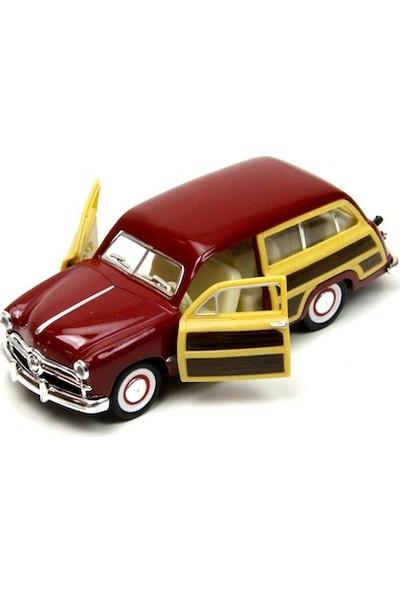 Kinsmart 1949 Ford Woody Wagon Metal Çek Bırak Araba