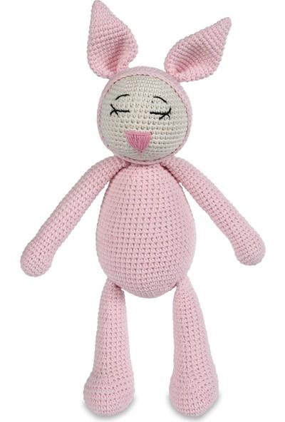 Jale Amigurumi Oyuncak Uykucu Tavşan