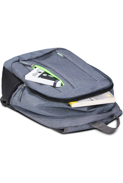 Classone BP-S364 15,6 inç Notebook Sırt Çantası-Gri