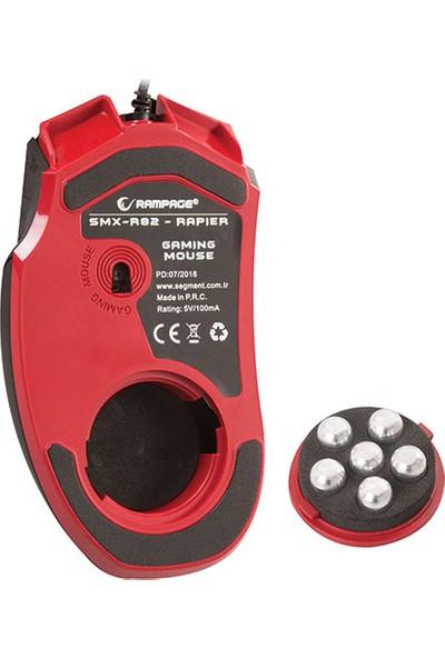 Rampage Smx-R82 Rapıer Usb Siyah 3200Dpi Makrolu Gaming Mouse