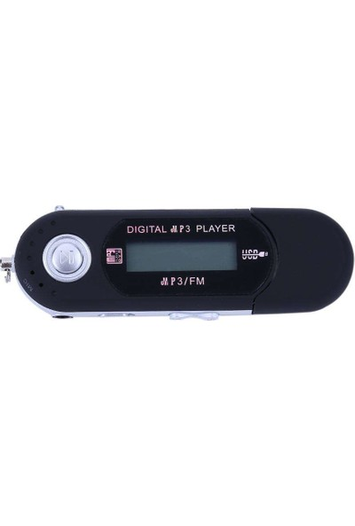 Kensa 2 Gb Pilli Mp3 Çalar Ses Kayıt Ve Lcd Ekran Siyah
