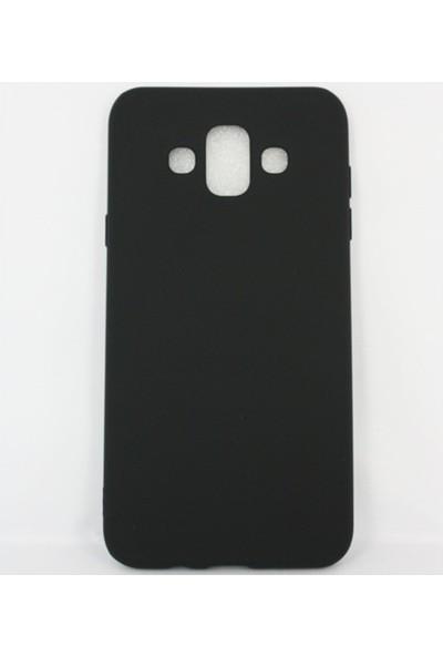Jopus Samsung Galaxy J7 Duo Mat Premium Silikon Kılıf - Siyah