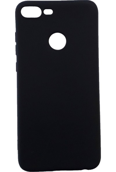 Jopus Huawei Honor 9 Lite Mat Premium Silikon Kılıf - Siyah