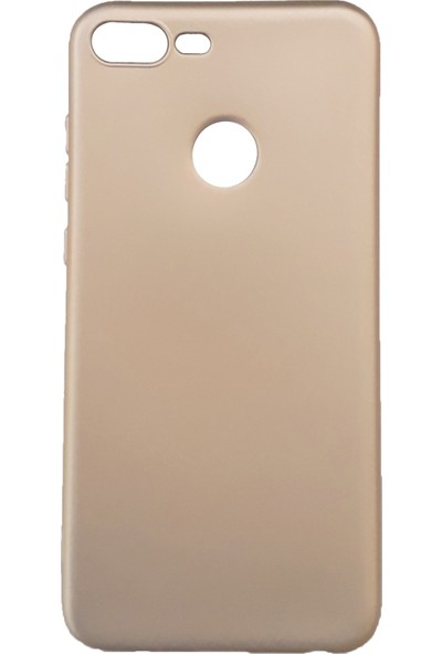 Jopus Huawei Honor 9 Lite Mat Premium Silikon Kılıf - Gold