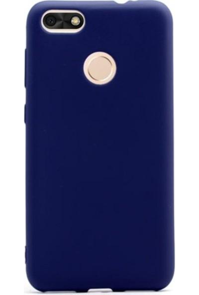 Jopus Huawei P9 Lite Mini Mat Premium Silikon Kılıf - Lacivert