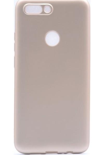Jopus Casper Via F2 Mat Premium Silikon Kılıf - Gold