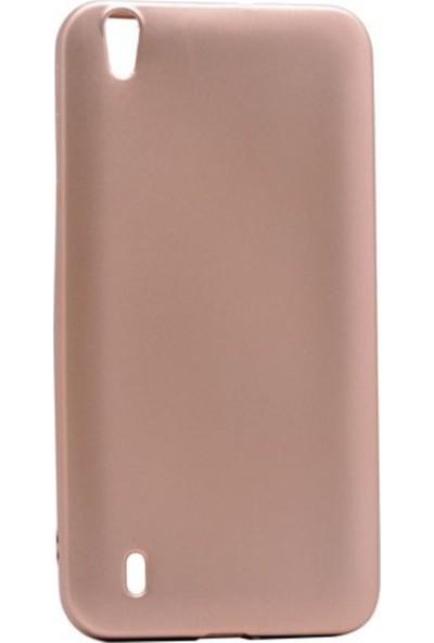 Jopus Vestel Venüs 5530 Mat Premium Silikon Kılıf - Gold