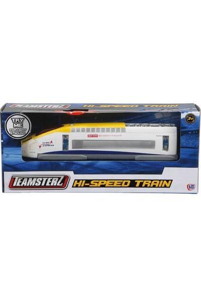 Sunman Sesli Işıklı Yüksek Hızlı Tren Metal Model Araç