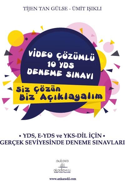 Video Çözümlü 10 YDS Deneme Sınavı