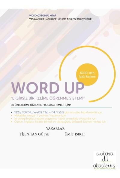 Word Up İngilizce Kelime Öğrenme Sistemi