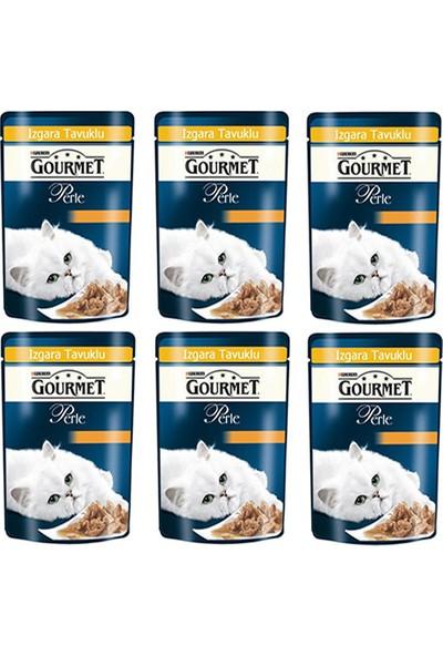 Purina Gourmet Perle Tavuklu Yaş Kedi Maması 85 gr (6 Al 5 Öde)