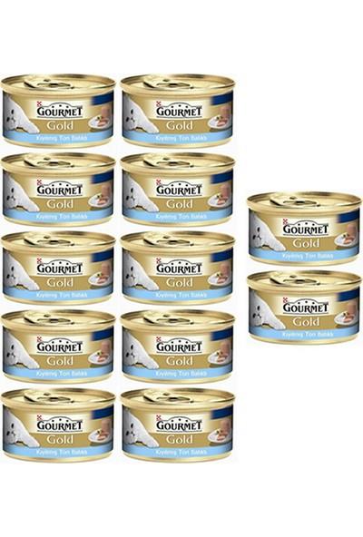 Purina Gourmet Gold Kıyılmış Ton Balıklı Yaş Kedi Maması 85 gr (12 Al 10 Öde)