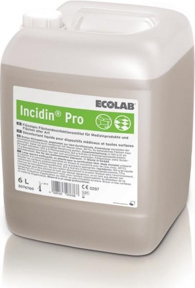 Ecolab İncidin Pro Yer Yüzey Dezenfektanı 6lt