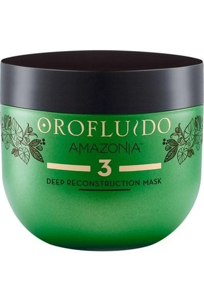 Orofluido Amazonia Deep Reconstruction Mask Derinlemesine Yeniden Yapılandırma Maskesi 500ML