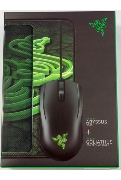 Razer Abyssus 2000 Mouse + Razer Golıathus Control Fıssure Mouse Pad