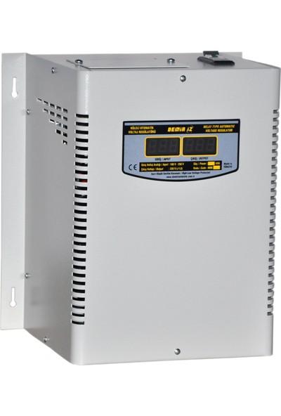 Demiriz Mrr 10 (160 V - 250 V) 10 Kva Monofaze Tam Otomatik Röleli Voltaj Regülatörü