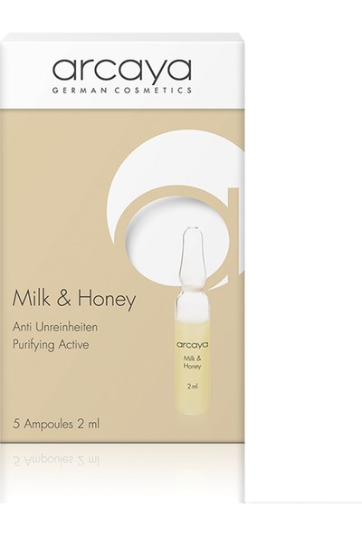 Arcaya Milk Honey Ampul 1 Kutu (5adet)