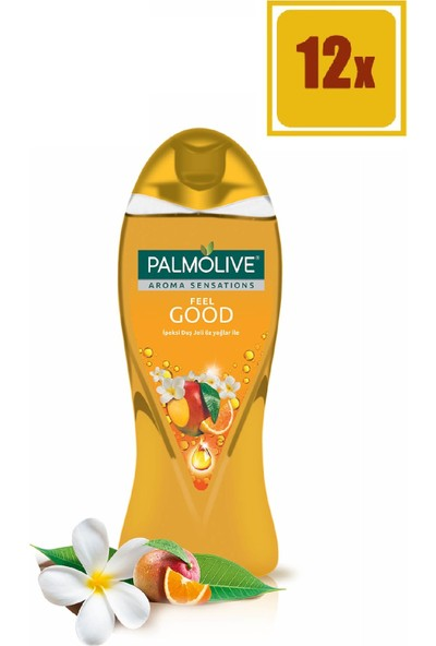 Palmolive Aroma Sensations Feel Good İpeksi Duş Jeli 500 Ml 12'li Set