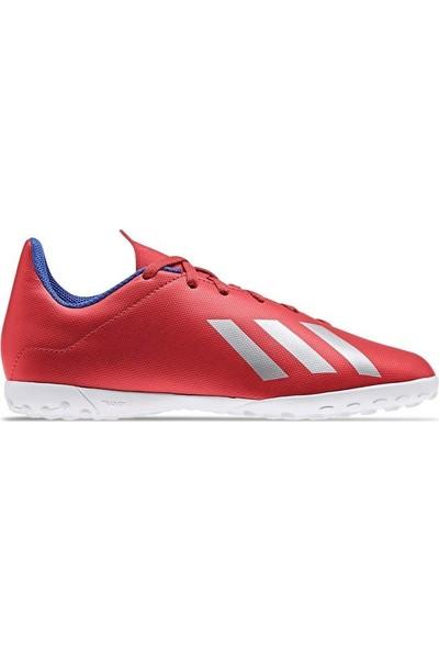 adidas Çocuk Futbol Ayakkabısı X 18.4 Tf J Bb9417 Kırmızı