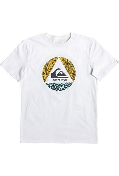 Quiksilver Erkek T-Shirt Caplanepourmoss M Tees Eqyzt05256-W