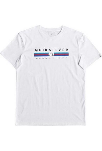 Quiksilver Erkek T-Shirt Getbizzyss M Tees Eqyzt05263-Wbb0